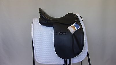 """Trainers Jessica 17.5"""" Dressage Saddle NEW with Tags"""
