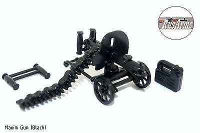 Maxim Gun (Black) RusArms, Weapons for LEGO minifigures, new accessories