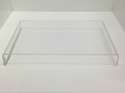 Large Display Riser Stand CLEAR Acrylic Perspex - Shops, Home/Office