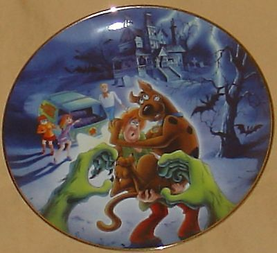 Rare 1997 Scooby Doo Shaggy Hanna Barbera Warner Brothers Limited Edition Plate