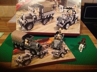 LEGO Indiana Jones Race for the Stolen Treasure (7622) Complete With Book & Box