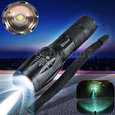 Elfeland T6 6000lm LED Zoomable Flashlight Waterproof Torch Light Lamp 18650 AAA