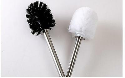 Replacement Stainless Steel WC Bathroom Cleaning Toilet Brush Head Holders  liau