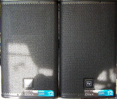2 x EV ELX 112 Multifunktionslautsprecher passiv Electro Voice Lautsprecher Set