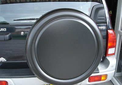 MITSUBISHI PAJERO SHOGUN PININ 4x4 SEMI-RIGID SPARE WHEEL COVER - BLACK