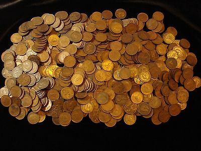 Great Britain Copper Farthing Coin Bulk Ideal Resell  #BK1