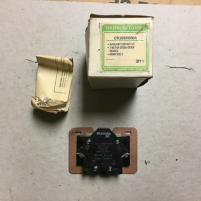 GE Auxiliary Contact Kit CR303X200A-New