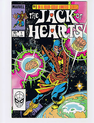 The Jack of Hearts #1 1984 - VF/NM