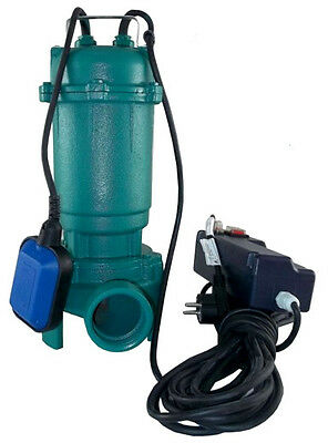 IBO CTR 550  Submersible Sewage Dirty Water Septic Pump w. Grinder/CUTTER