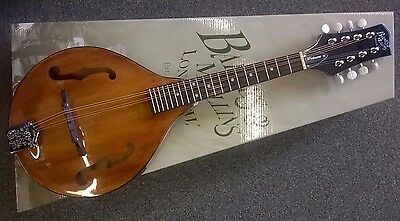 "Barnes & Mullins BM600 ""Wimborne"" mandolin, 8 string, all solid woods, quality!"