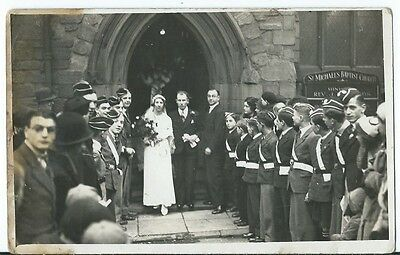 Coventry Wedding St Michaels Baptist Church with Scouts Guides RP by Herald