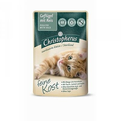 Christopherus Katze Pouch Adult - Sterilized Gefl • EUR 6,79