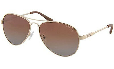 Guess Polarized Authentic Designer Women's Sunglasses 	GU7228 32H