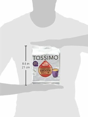 TASSIMO Americano Smooth  Pack of 5, Total of 80 Capsules