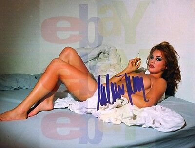 REPRINT RP 8x10 Autographed Signed Photo Mrs Donald Trump Melania NUDE Smoking