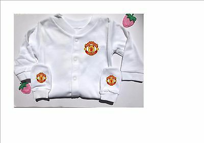 Manchester United - New Baby Gift Sleepsuit Scratch Mittens Bodysuit Vest Set