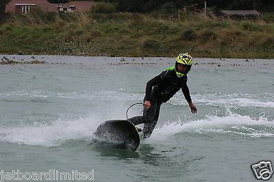 JetSurf. Jet powered motorised surfboards. Hire, Lessons, Sales. £150 for 1 hour