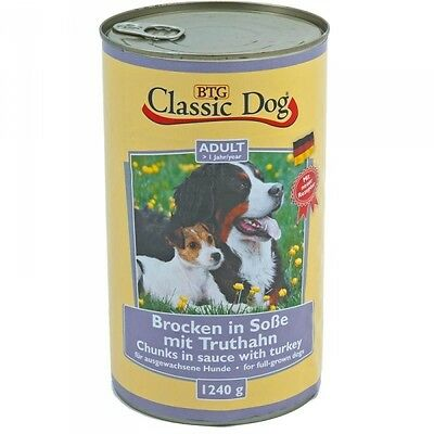 Classic Dog Dose Truthahn 1240g