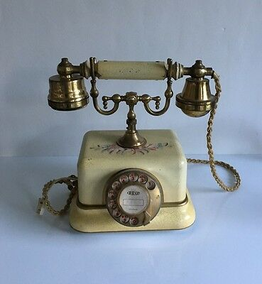 Old Antique Vintage Telcer Italian Telephone - Telefonica Period