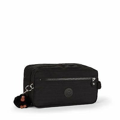 BNWT Kipling AGOT Toiletry Travel Bag DAZZ BLACK HPS 2016/17 RRP £49