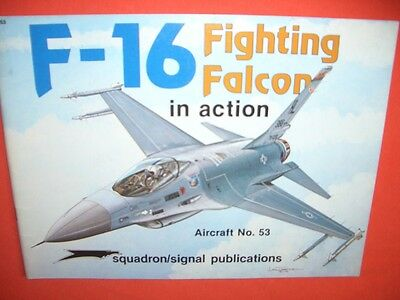 Squadron Signal 1053, F-16 FIGHTING FALCON  in action