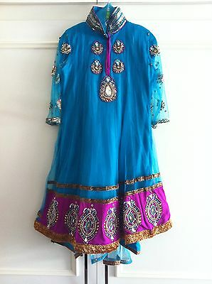Girls Anarkali Outfit Size 24