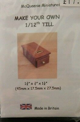 1/12th Scale Shop Till Kit, by McQueenie Miniatures