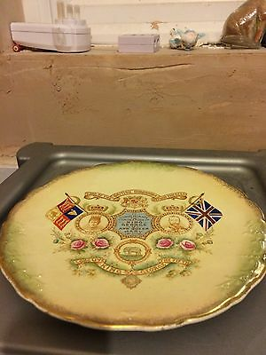 King George V and Queen Mary Coronation plate - 1911
