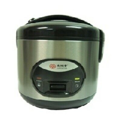 Sunpentown Rice Cooker |SC2003| with stainless steel inner pot, 3 cup