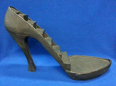 """Giant Vintage High Heel Stiletto Shelf Display - Just the Right Shoe 14.25"""" x 2'"""