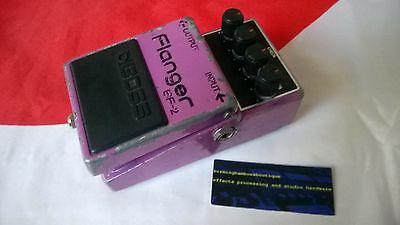 Boss Bf-2 Flanger Effects Pedal Japan Black Label Bf