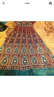 Pakistani Designer Ramsha Anarkali Dress - Stitched Medium