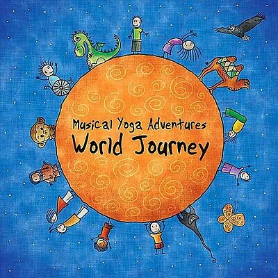 Musical Yoga Adventures: World Journey - Linda Lara (2012, CD NEUF)