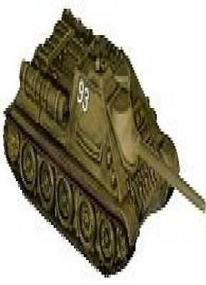 A&AM: #022 SU-85 [Figure with Card] 1939 - 1945 Axis and Allies Miniatures Mini
