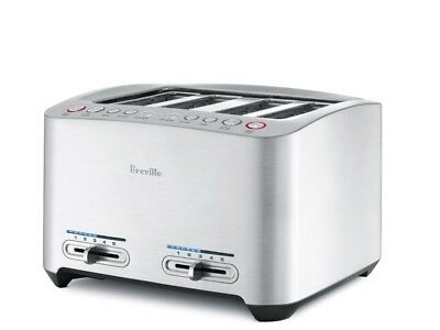 "Breville Toaster |BTA840XL| 4-slice ""the Smart Toaster"""
