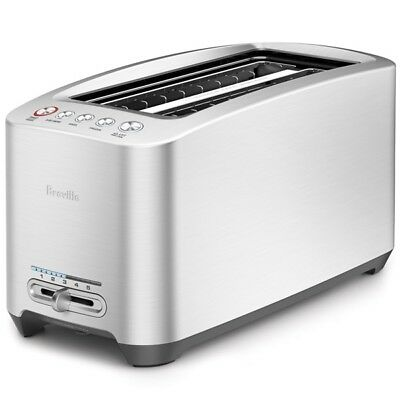 "Breville Toaster |BTA830XL| 2-long slots, ""the Smart Toaster"""