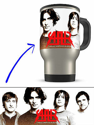 The All-American Rejects on Stainless Steel Travel Mug Thermos Tumbler 15oz