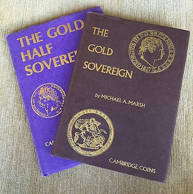 'The Gold Sovereign' And 'The Half Sovereign' By Michael A. Marsh. 2 Books.