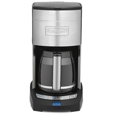 Cuisinart Coffee Maker  DCC3650C  12 cup, stainless steel & black