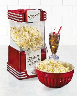 Nostalgia Electrics Hot Air Popcorn Maker |RHP625| 50's Style