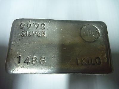 1Kg Silver Bullion Bar Abc Fine Silver Bullion Bar Buy Now