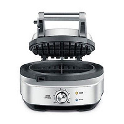 """Breville Waffle Maker  BWM520XL  round """"the No Mess Waffle"""""""