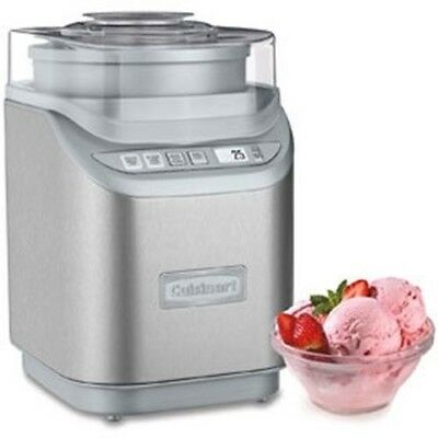 Cuisinart Gelateria Frozen Yogurt, Ice Cream, Gelato & Sorbet Maker |ICE70C| 2-Q
