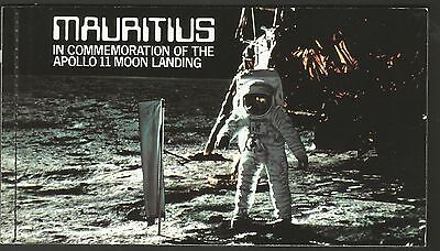 Mauritius 1979 In Commemoration Of The Apollo 11 Moon Landing** -  Armstrong.
