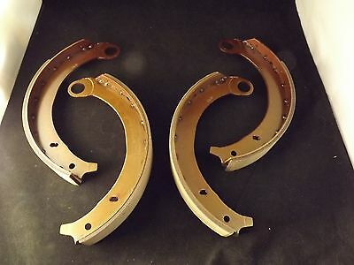 1939-42 Ford New Set of 4 Bonded Brake Shoes