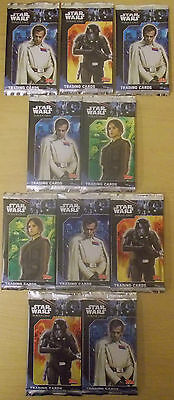 Star Wars Rogue One ~ Topps Trading Cards ~ 10 x Sealed Packs = 80 Cards