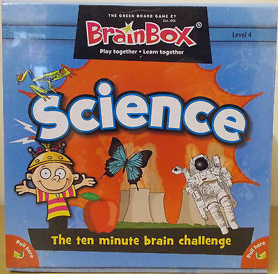 Brainbox Science ~ Children's Memory Card Game ~ 7 Years+