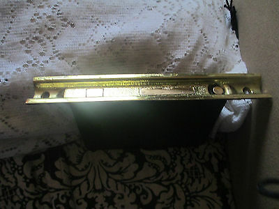Antique  -Double Pocket Door Lockset and Door Plates -by Reading