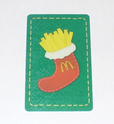 McDonalds collector gift card from Canada  CHRISTMAS 2012