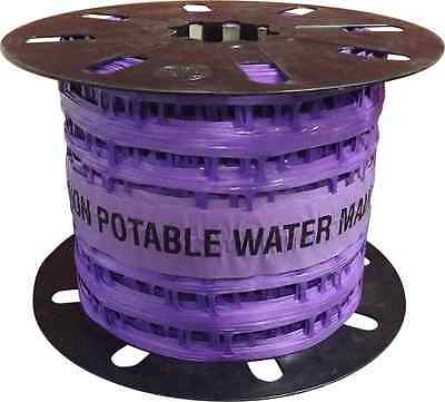 DETECTAMESH 'NON-POTABLE WATER MAIN' 200mm x 100m ROLL - BURIED SERVICE LOCATOR